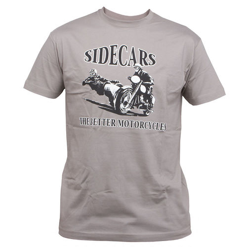 T-Shirt: Sidecars - the better motorcycles