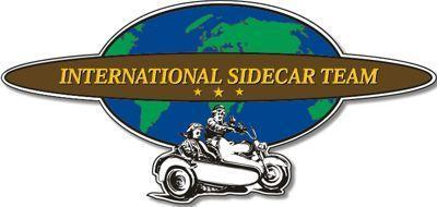 "Aufkleber ""International Sidecar Team"""